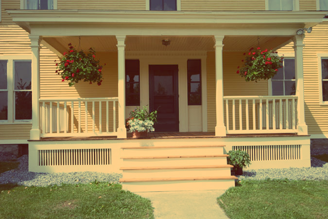 My kind of southern identifying a southern belle space for Southern front porches