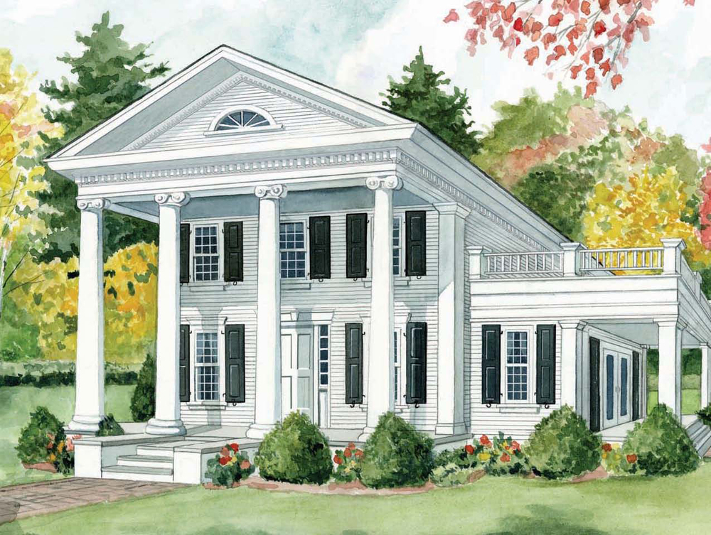 My kind of southern identifying a southern belle space Architectural house plan styles