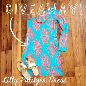 Lilly Pulitzer Dress Giveaway! CLOSED