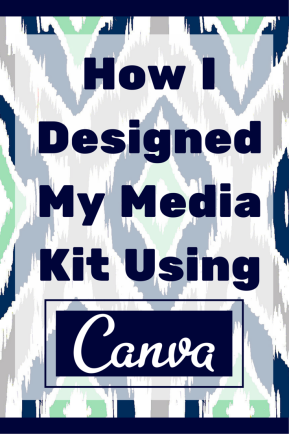 How to Make a Media Kit Using Canva